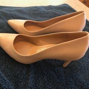 Calvin Klein Heels - nude colored